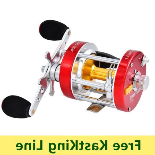 rover conventional reel round saltwater baitcasting fishing