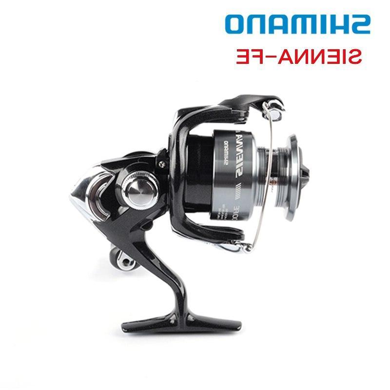 Shimano SIENNA FE 2500 <font><b>Reel</b></font> 1+1BB Spool Front Drag XGT7 Saltewater Pesca