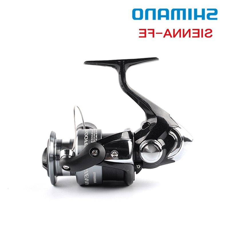 Shimano SIENNA 2500 <font><b>Reel</b></font> 1+1BB Front Drag XGT7 Pesca