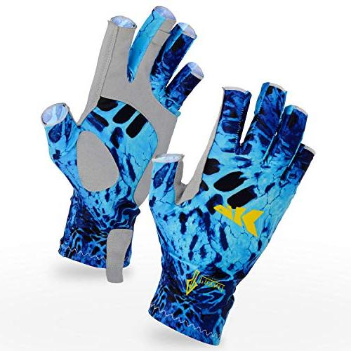 sol armis fingerless fishing gloves