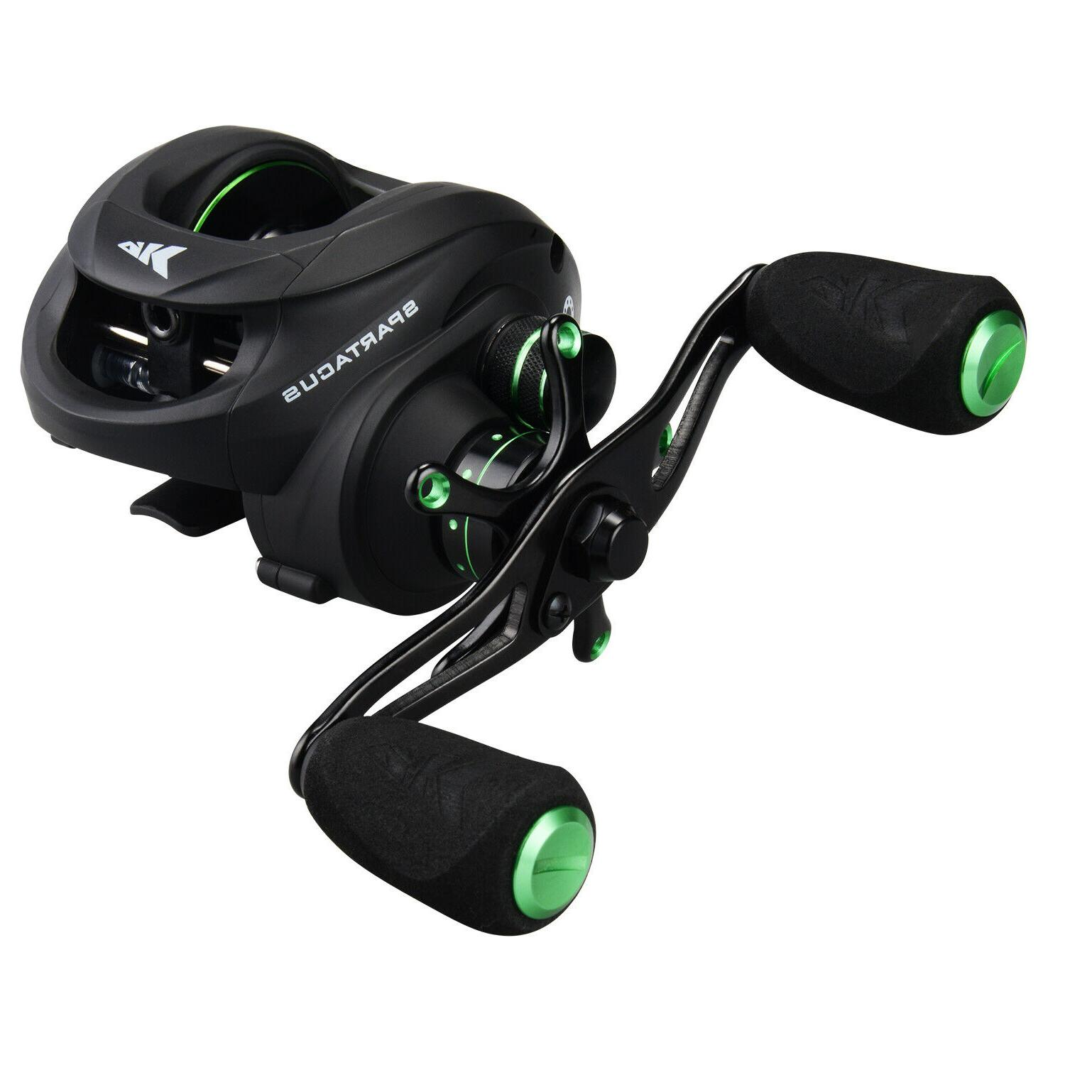 spartacus baitcasting reel multicolor lure fishing reels