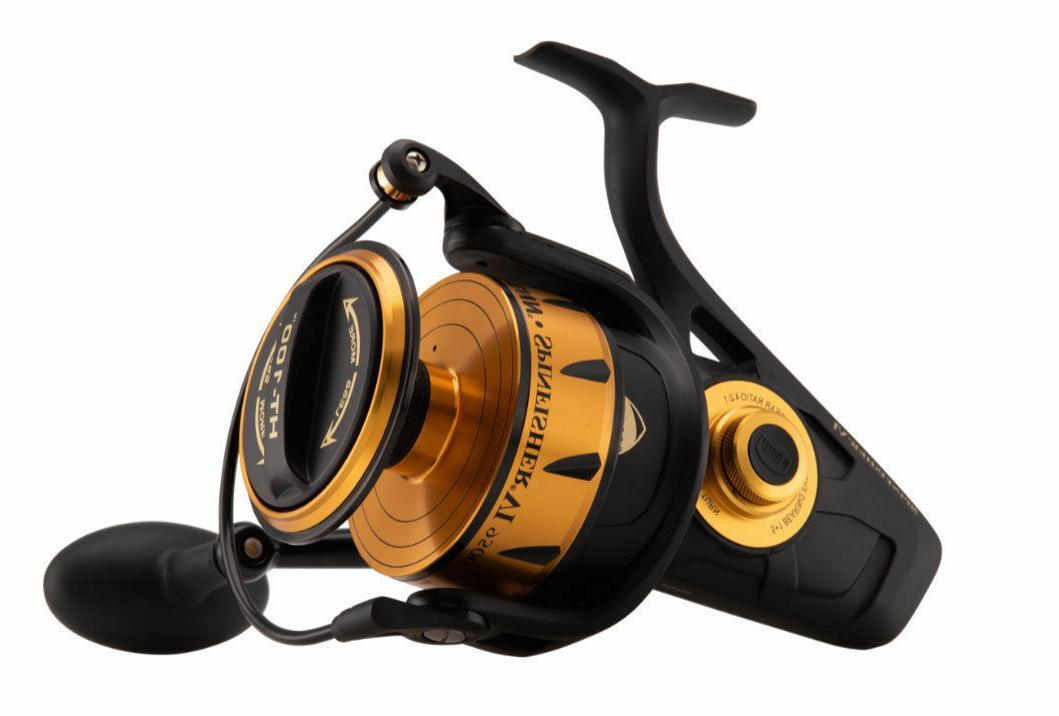 spinfisher ssvi 4500 saltwater spinning fishing reel