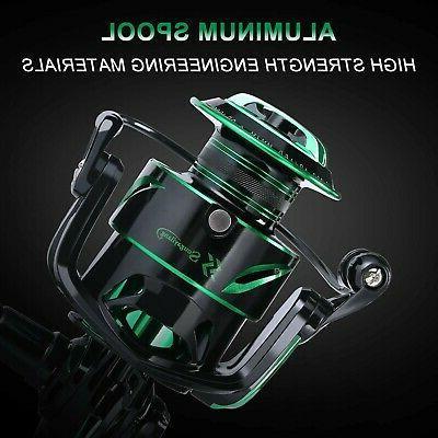 Sougayilang Spinning Fishing Light 6.2:1 High-Speed Gear Ratio wi...