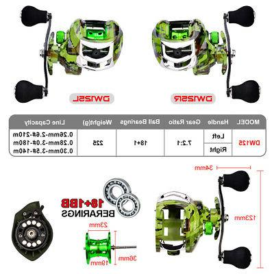 US Spinning Fishing Reels Baitcasting Reels Saltwater Left/Right Hand