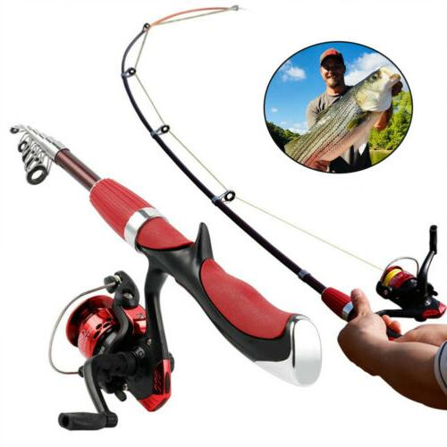 Durable Spinning Fishing Rod and Reel Set Carbon Ultra Light