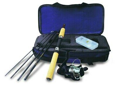 spinning fishing rod reel and combo set