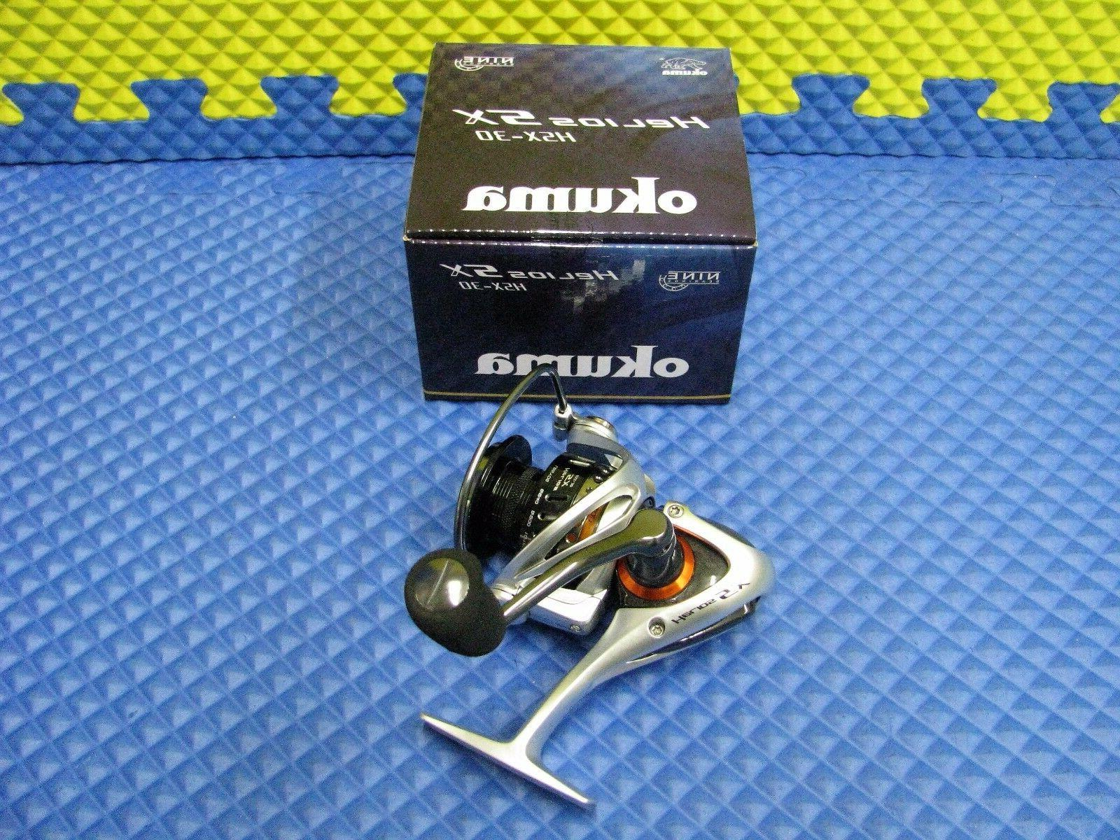 Okuma Spinning Reel 9BRG Helios SX HSX-30