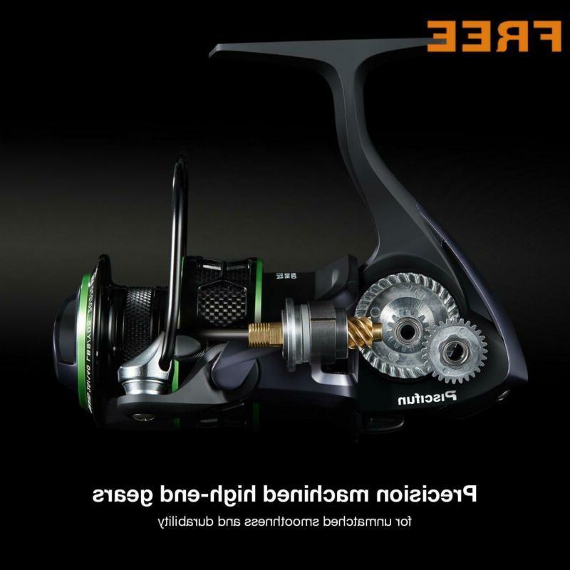 Piscifun Reel Lightweight Smooth Fishing Carbon Fiber
