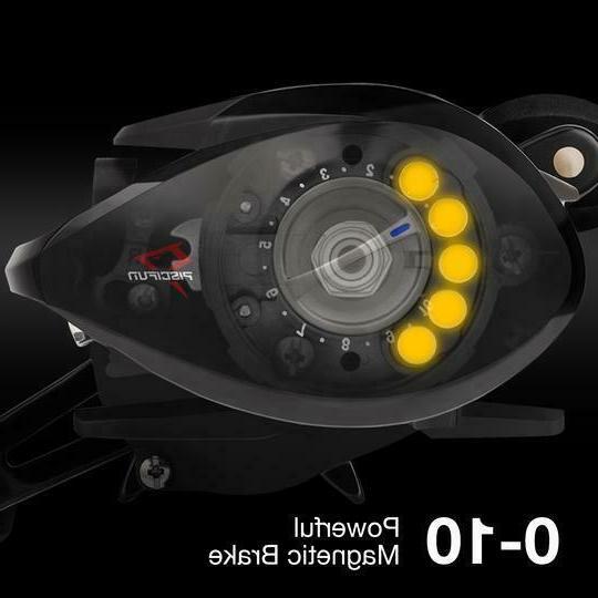 SPONSORED Torrent fishing Reel 7.1:1 Gear Ratio,
