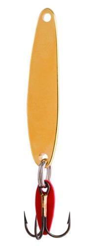 Bay De Noc 9G 4-Inch Swedish Pimple Jig, 1-5/8-Ounce, Gold