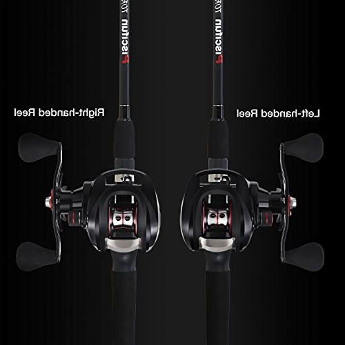 Baitcaster Handed Baitcasting Reel Carbon Fiber Drag Fishing Baitcast Reels
