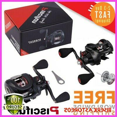 torrent fishing baitcasting reel extra light spool