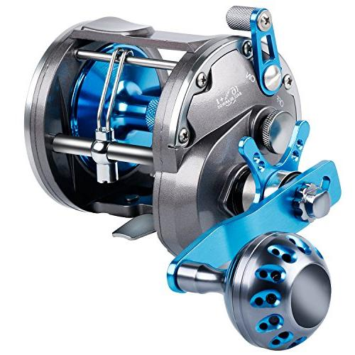 trolling reel saltwater level wind