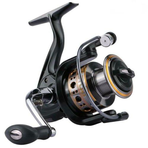 Goture Ultralight Spinning Reel Smooth Fishing with Metal Sp