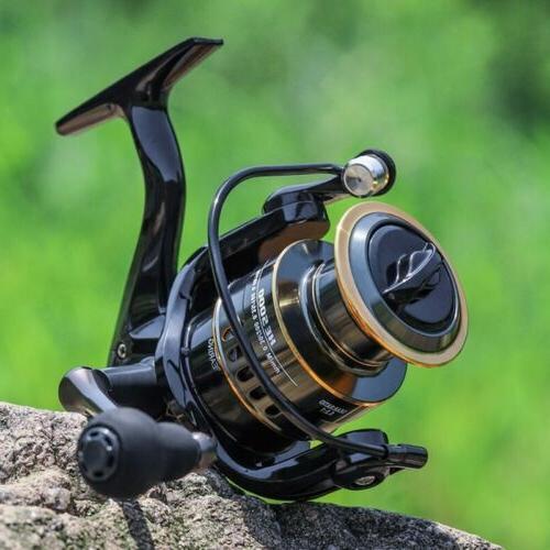 US! Fishing Reel HE1000-7000 Max Drag 10kg High Speed Spool Reel