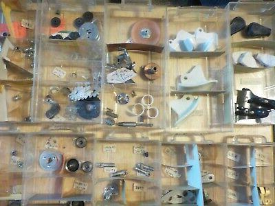 vintage reel parts new as found