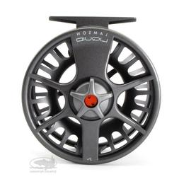 Lamson Liquid Fly Fishing Large Arbor Reel 5+ Smoke