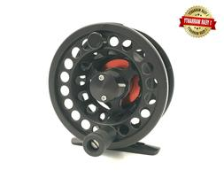 Rudder Light weight Fly Reel Fishing Reels  3/4 Black Red 1