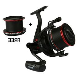 Goture Long Casting Spinning Fishing Reels Metal Spool Bass