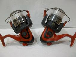 Lot of 2 Berkley Fusion 206 spinning reels new off combos