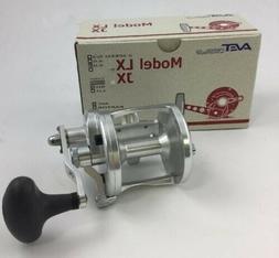 Avet LX 6.0 Single Speed Lever Drag Reel - Silver