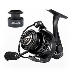 KastKing Mela II Spinning Reel, Light, Smooth Fishing Reel,