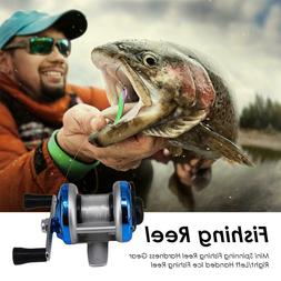 Metal Fishing Reel Hardness Right/Left Handed Ice Fishing Re