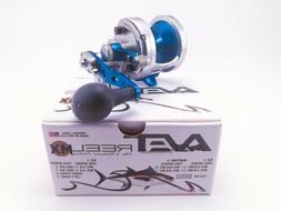 Avet MXJ 6/4 Raptor 2-Speed Lever Drag Casting Reels Silver