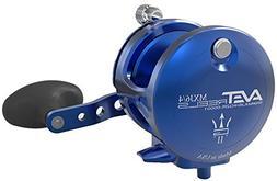 Avet MXJ G2 6/4 Two Speed Reel - Right-Hand - Blue