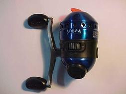 NEW ZEBCO 33 MICRO CUSTOM BLUE FISHING REEL BITE ALERT METAL