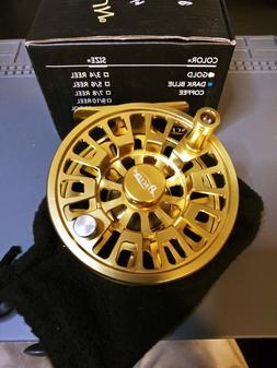 New Piscifun Blaze / Sword Fly Fishing Reel size 5/6 Gold