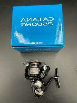 NEW Shimano Catana 2500HGFD Fishing Spinning Reel 2500HG