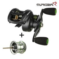 Piscifun Phantom 5.7oz RH Baitcasting Reel w/Finesse 2nd Spo