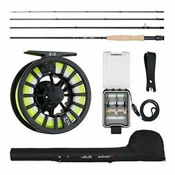 Piscifun New Fly Fishing Rod and Reel Combo Complete 5/6 Sta
