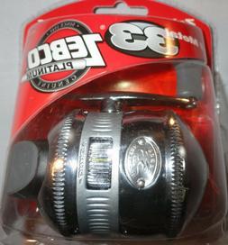 Zebco Platinum 33 Spincast Fishing Reel All Metal Body 10 lb