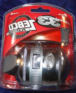 Zebco Platinum 33 Spincast Fishing Reel All Metal Body New O