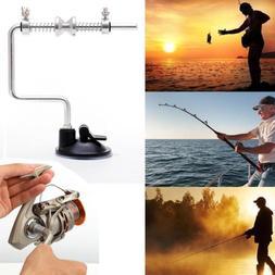 Portable Aluminum Fishing Line Winder Reel Spool Spooler Fis