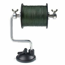 Portable Fishing Line Reel Spooler Spool Winding Winder Syst