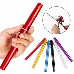 Portable Pocket Fish Pen Shape Mini Aluminum Alloy Fishing R