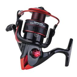 Powerful 12BB Spinning Fishing Reels 18LBs Max Drag for Salt