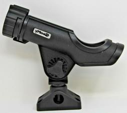Scotty 0230-Bk Rod Holder Powerlock Black 0241 Side//Deck Mount
