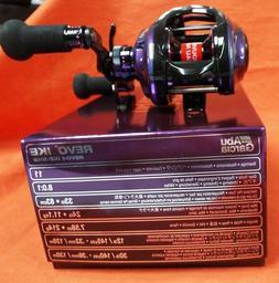 New Abu Garcia 11BB Revo IKE-SHS 8.0:1 Baitcasting Fishing R