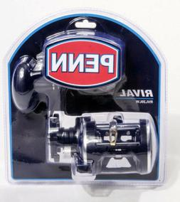 Penn Rival Level Wind Conventional Reel 20, 5.1:1 Gear Ratio