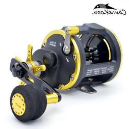 CAMEKOON Saltwater Fishing Reels Level Wind Trolling Reel Fo