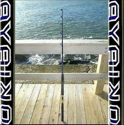SALTWATER FISHING RODS 50-80LB FISHING POLES FISHING FOR PEN