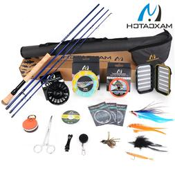 Maxcatch Saltwater Fly Fishing Rod and Reel Combo 9FT 8-10WT