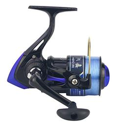 Saltwater Ice Fishing Spinning Reel Sea 5.5:1 Line Wheel Pla