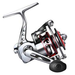 Goture Small Spinning Fishing Reel Collapsible Handle Metal