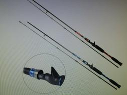 Sougayilang Baitcasting Rod Reel Combo MH Graphite Casting R