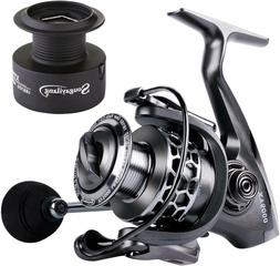 Sougayilang Fishing Reel 13+1BB Light Weight Ultra Smooth Al